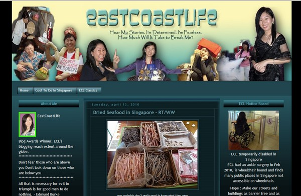 Blog Makeover: 2 – EastCoastLife