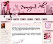 Blog Makeover: Mommy In Pink