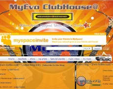 MySpace 01 – MyEvo Clubhouse