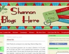 MO19 – Shannon Blogs Here