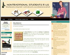 Blog Makeover : 27 – Nontraditional Students R Us