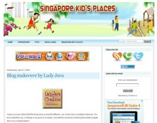 Blog Makeover : 21 – Singapore Kid's Places