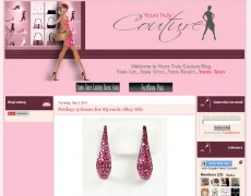 Blog Makeover : 25- Yours Truly Couture Blog