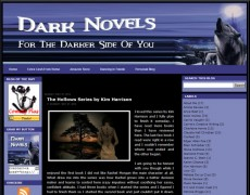Blog Makeover : 38 – Dark Novels