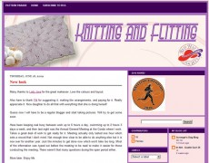 Blog Makeover : 49 – Knitting and Flitting
