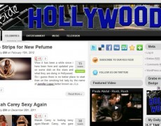 Blog Makeover #58: Inside Hollywood