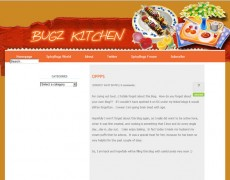Blog Makeover #59 : Bugz Kitchen