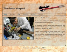 Website Design: The Guitar Hospital