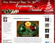 Blog Makeover 83: Christmas Look for Expression Needed